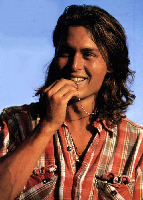 Johnny Depp Long Hair. Re: Johnny Depp Fan Thread lt;3