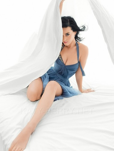 Katy Perry پیپر وال probably containing a chemise and a کاک, کاکٹیل dress called Katy Perry - Peggy Sirota Photoshoot (Cosmopolitan) HQ