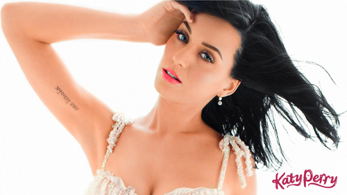 Katy Perry wallpaper probably containing attractiveness, a portrait, and skin entitled Katy Perry
