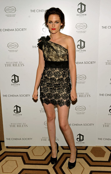 Kristen Stewart at 'Welcome to the Rileys' screening in NYC