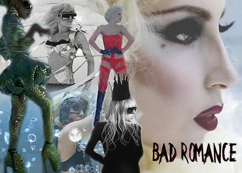 Lady Gaga Bad Romance WallPaper