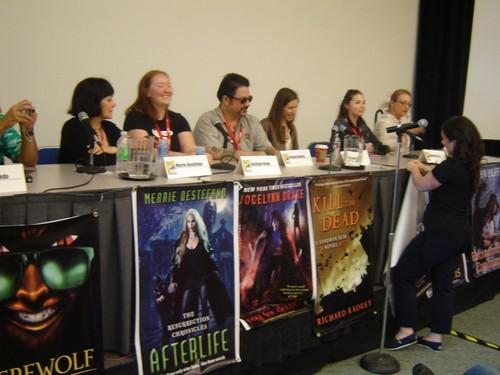Lauren Kate At Comic Con For Torment