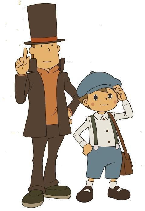 """Layton and Luke professor layton 16377610 479 697 - La saga del """"Professor Layton"""": bellissimi ricordi che si intrecciano con il presente"""