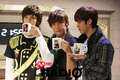 Lee Joon MBLAQ They Have own Cups!