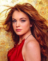 Lindsay Lohan - redheads photo