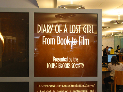 Louise Brooks at the San Francisco Public Library