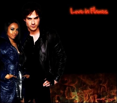 사랑 in Flames