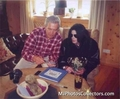 MJ in Austria...so RARE - michael-jackson photo