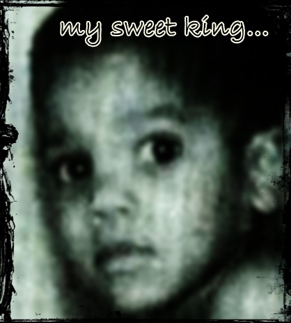 MY sweet King..