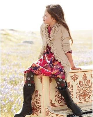 Breaking Dawn The Movie wallpaper with a hip boot entitled Mackenzie Foy - Photoshoot