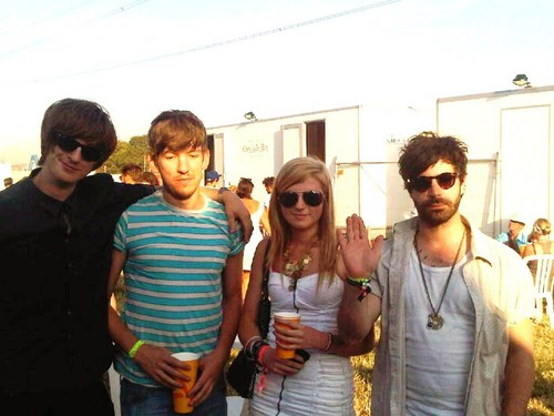 Me and Foals at Glastonbury