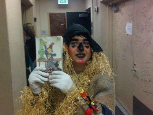 Me as Fiyero the Scarecrow