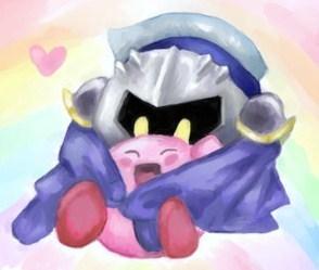 Meta Knight and Kirby