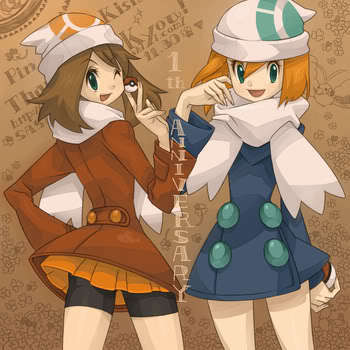 Misty and May