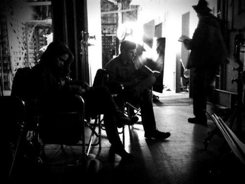 Monica & Brendan waiting