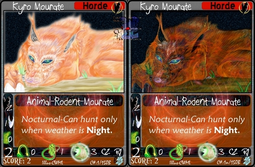 Mourate card