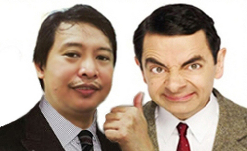 Mr bean and Aris