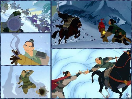 Mulan wallpaper probably containing anime entitled Mulan