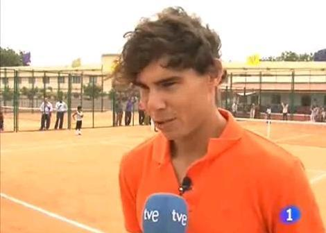 Nadal opened a sports school in Anantapur, India
