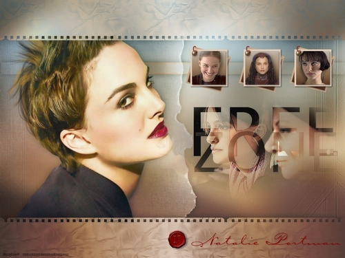Natalie Portman wallpaper containing a portrait entitled Natalie Portman