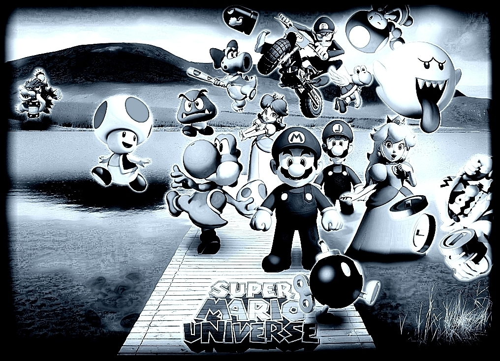 New Super Mario Poster