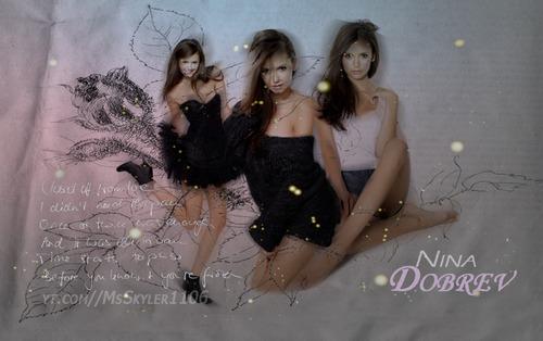 Nina Dobrev Background