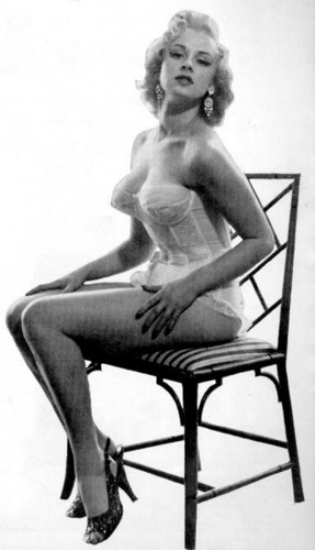 Norma Ann Sykes (Sabrina) in Lingerie