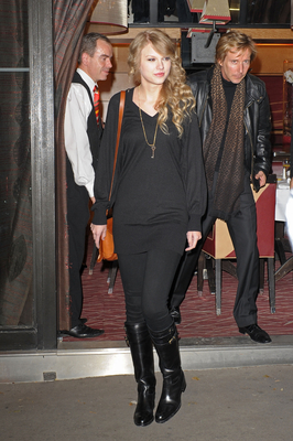 October 18 - Arriving at her hotel in Paris, France