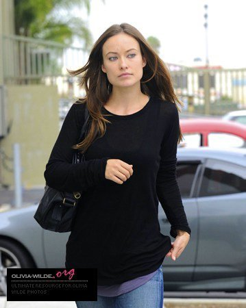 Olivia out in Inglewood