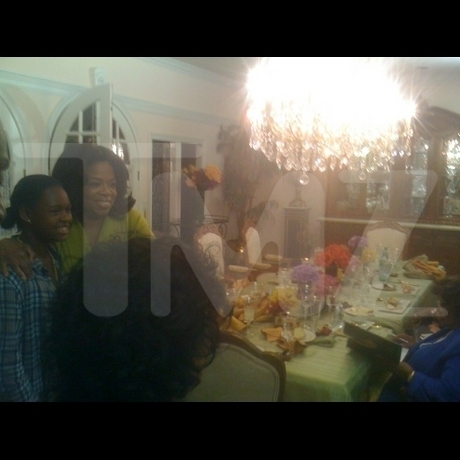 Oprah Visits Jackson Family utama