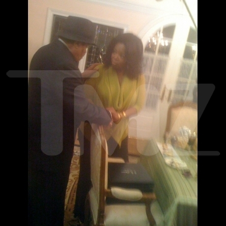 Oprah Visits Jackson Family inicial