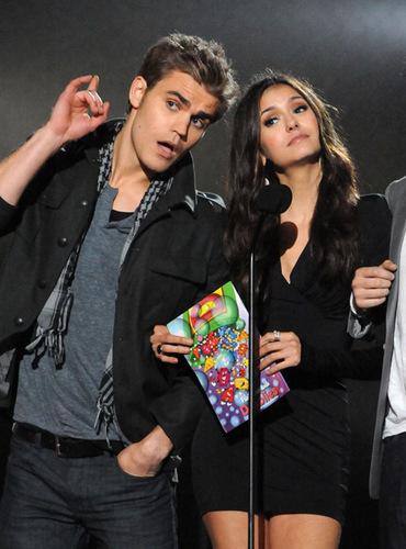 Paul & Nina_Scream Awards, October 2010