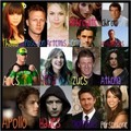 Percy Jackson Cast - percy-jackson-and-the-olympians fan art
