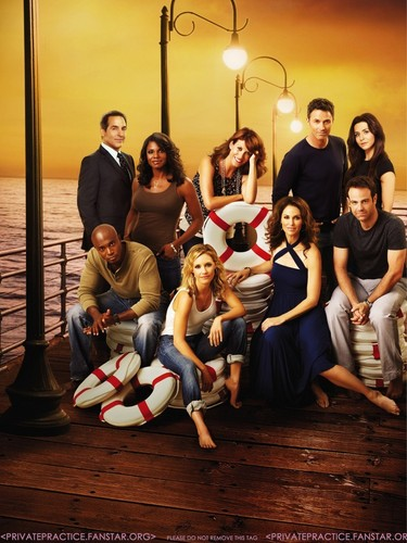 Private Practice wallpaper titled Private Practice - Cast Promotional Photos Poster -second version