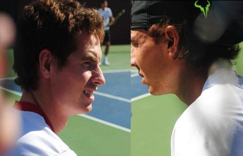 RAFA AND ANDY FACES