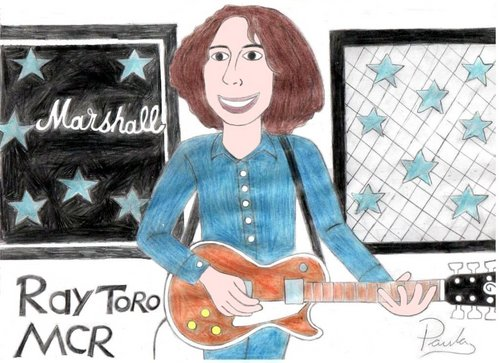 strahl, ray Toro Fan Art