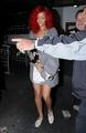 Rihanna at Madeo Restaurant in Los Angeles - October 17, 2010