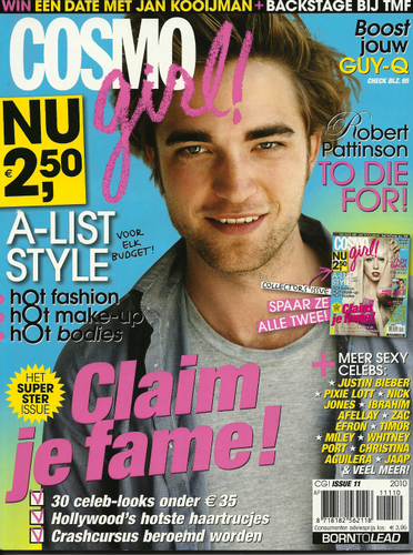 Robert Pattinson-Dutch magazine Scans