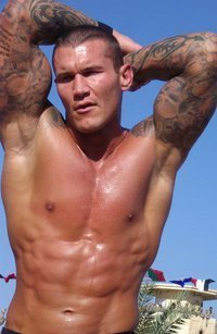Randy Orton wallpaper containing a hunk and a six pack titled SEXY RANDY