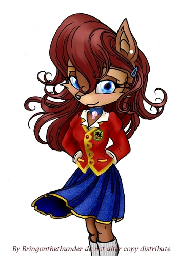 Sally Acorn - School Uniform