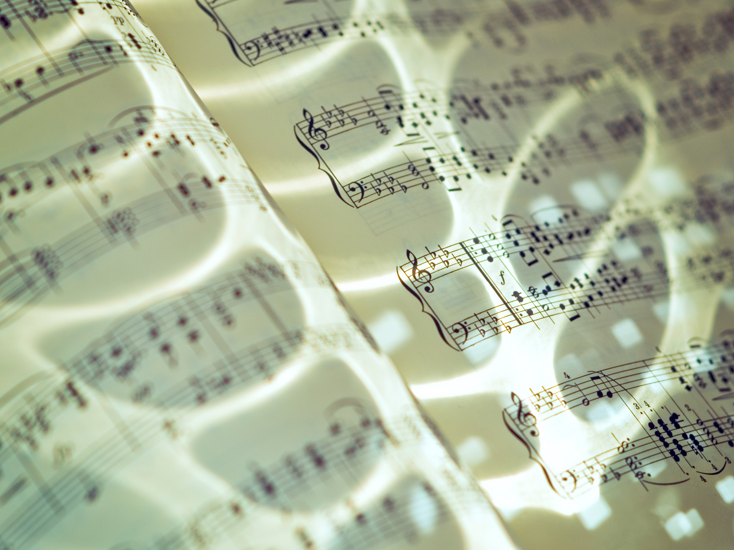Sheet música fondo de pantalla