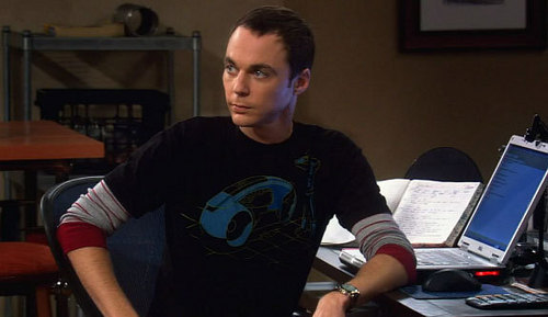 Sheldon Cooper wallpaper with a laptop called Sheldon Cooper