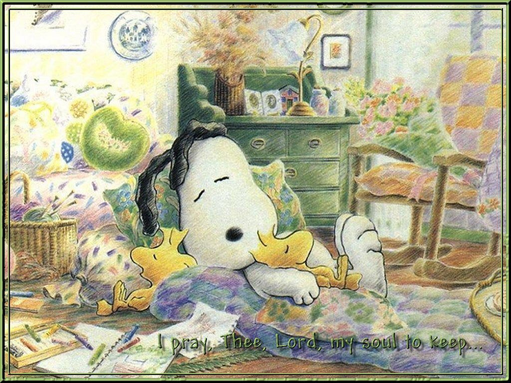 स्नूपी Sleeping