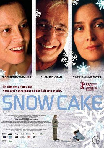 Snow Cake Poster ;)