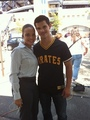 Taylor Lautner Poses For a Picture With 'Abduction' Cast Mate Antonique Smith!