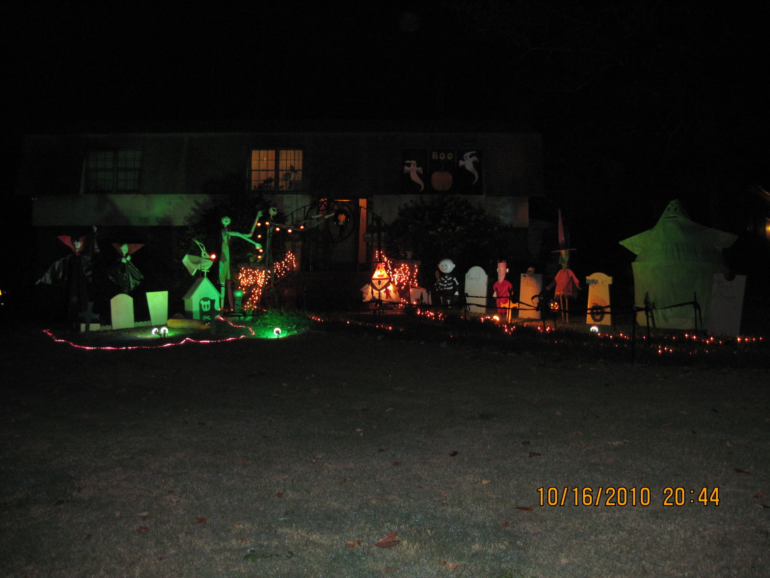 Nightmare Before Christmas House Birmingham Alabam - Nightmare Before ...