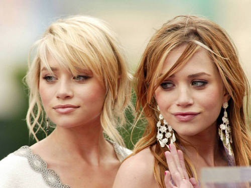 Mary-Kate & Ashley Olsen wallpaper with a portrait titled The Olsen Twins