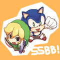 Toon  Link and Sonic :) - super-smash-bros-brawl photo