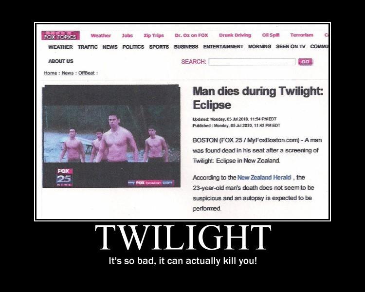 Twilight Kills!