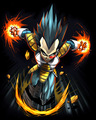 Vegeta - vegeta fan art